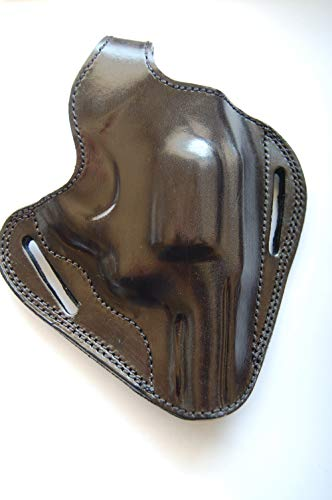 Cal38cab44 Handcrafted Leather Belt Holster for Charter Arms Bulldog Standard .44 S&W 2.5