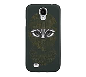 9 Lives Ninja Galaxy S4 Dark jungle green Barely There Phone Case
