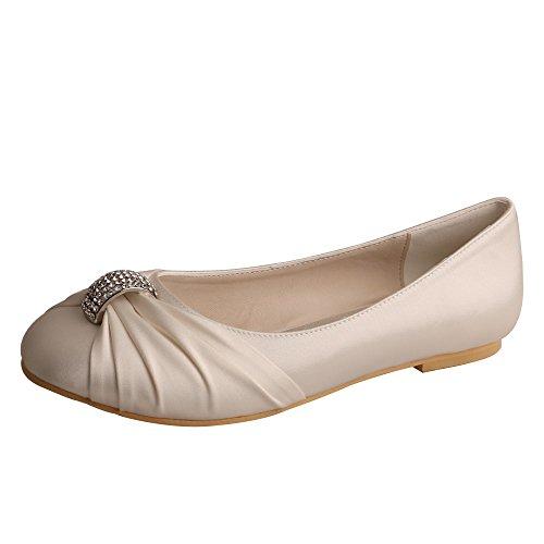 Wedopus - Ballet mujer marfil