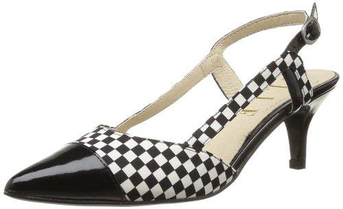 Elle Auteuil - Zapatos de tacón para mujer Negro (Noir)