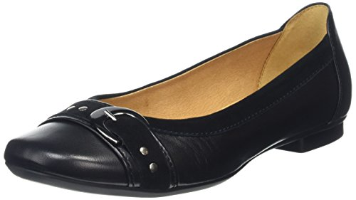 Gabor Shoes Sport, Bailarinas para Mujer Negro (Schwarz 27)