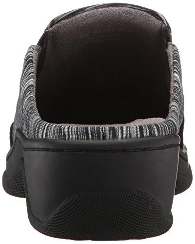 Softwalk Dames Alcon Mule Zwart-grijs Multi / Zwart