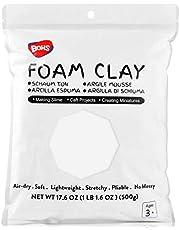 BOHS Super Light Clay, Air Dry, for Preschool Arts & Crafts,1.1 Pound
