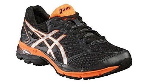Asics Gel Pulse 8 Men BlackSilverOrange Running Shoes