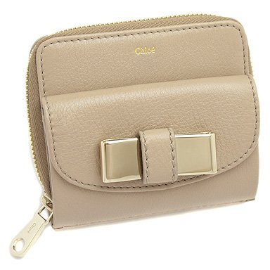 98acb1d2e1e2 Amazon   クロエ 財布 Chloe 3P0503 015 052 リリィ リリー LILY Square zipped wallet  ラウンドファスナー2つ折り財布 ペブル PEBBLE[並行輸入品]   財布