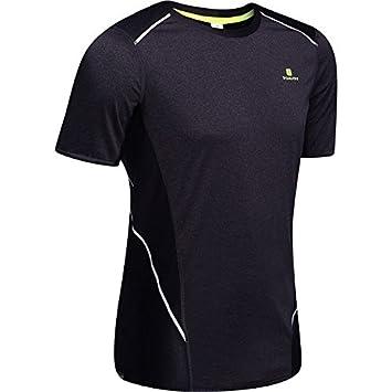 Decathlon Running Camisetas Gris Oscuro M: Amazon.es: Deportes y aire libre