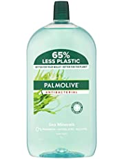 Palmolive Antibacterial Liquid Hand Wash Soap Sea Minerals Refill and Save 0% Parabens Recyclable, 1L