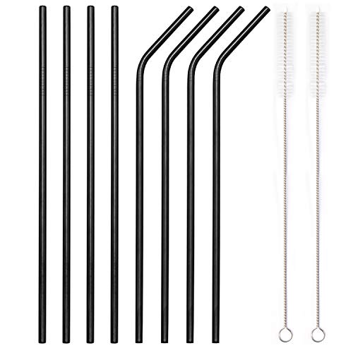 YIHONG-Reusable-Stainless-Steel-Metal-Straws