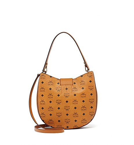 Cognac MCM Womens Hobo Medium Patricia Visetos CnHqPAw