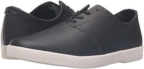 HUF Men's Gillette Skateboarding Shoe, Black/Blanc, 13 M US