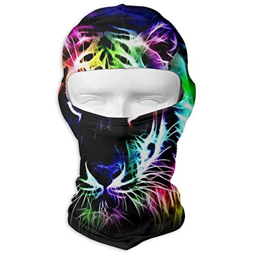 Balaclava Cool Tiger Colorful Full Face Masks Ski Headwear Motorcycle Hood For Cycling Sports Hiking