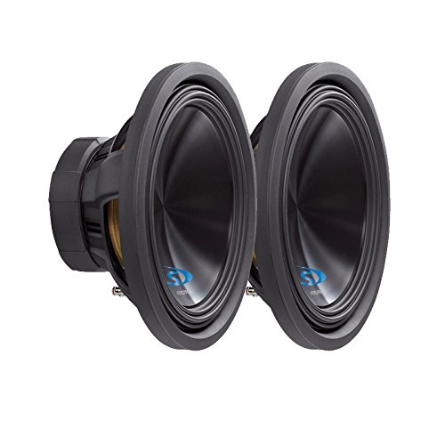 "Alpine SWS-12D4 Ohm 12"" Subwoofer Bundle"
