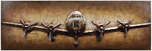 Empire Art Direct Airplane Metal