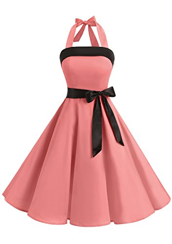 50s strapless dress - 2