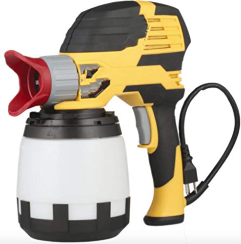 Automotive Electric Airless Paint Sprayer Guns Spray Gun Tip Cup Handheld Painter Tool Cleaning Kit Holder for House Filters Stand Regulator Cleaner Sprayers Home Exterior Shield Tips Interior Walls