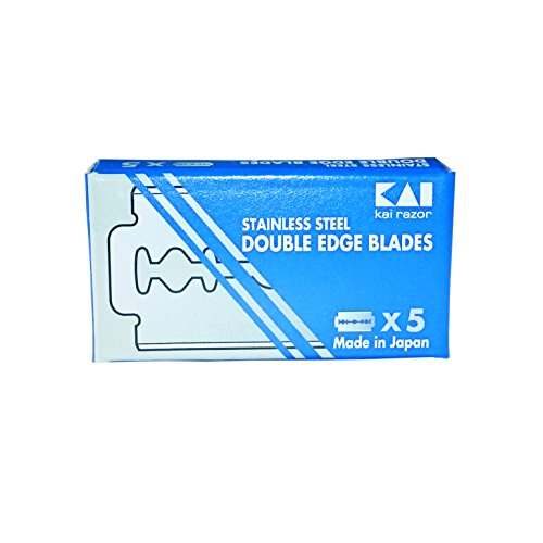 Kai Stainless Steel Double Edge Razor Blades - Edge Stainless Steel Razor