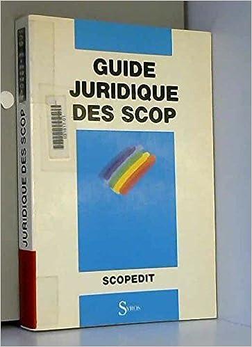GUIDE DES SCOP JURIDIQUE TÉLÉCHARGER