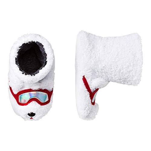 Cat & Jack Kids Polar Bear Slipper Boots - Small (13-1)
