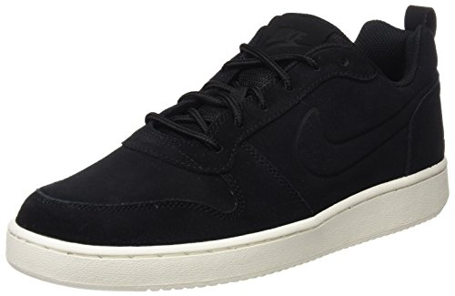 sail Nike Low Court black black Noir Premium Borough Sneakers Basses Homme HwRHFqv