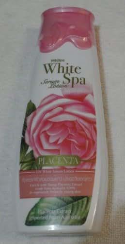 Mistine White Spa Placenta Uv White Serum Body Lotion 200 Ml