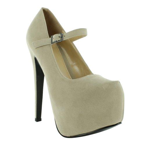 Sensation De Chaussures - Sandales Beige Femme Robe Beige nGvCBF