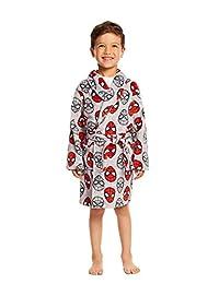 Spider-Man Toddlers Fleece Sleep Robe - Soft & Cozy Boys Bathrobe
