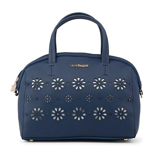 Genuine Biagiotti Laura Women Handbag Blue Designer OEUOqI
