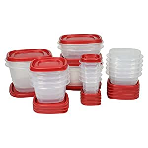 Rubbermaid Easy Find Lid Food Storage Set, 40-Piece