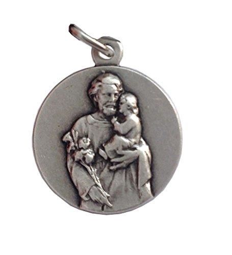Metal Joseph (Saint Joseph Silver Medal - The Patron Saints Medals)