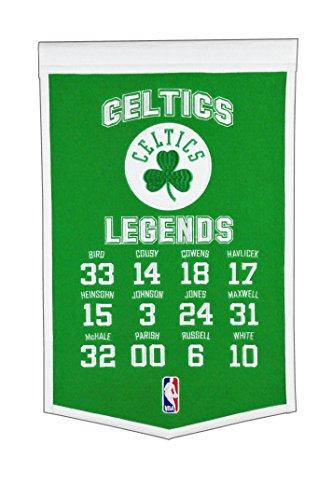 Winning Streak NBA Boston Celtics Legends Banner