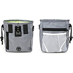 Dog Treat Pouch Training Easily Carries Zipper Training Pouch Bag Toys Bag Pet for Pet Dog With Poop Bag Dispenser