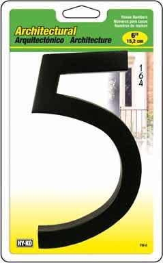 Top 10 recommendation bronze house numbers 5 inch for 2020