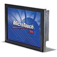 3M MicroTouch CT150 Touch Screen Monitor 15 - Capacitive - 500:1 1024X 768 C1500SS VGA USB SLIM BEZEL ROHS 11-71315-225-01