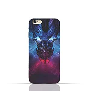 Apple iPhone 6 Plus /6 Plus s TPU Silicone Case with Deadly Dragon Design
