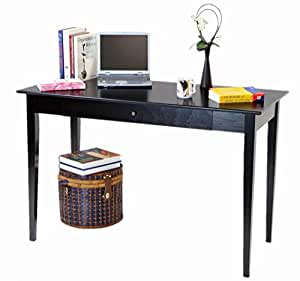 Frenchi Home Furnishing Computer/Writing Desk with Drawer, Espresso Finish
