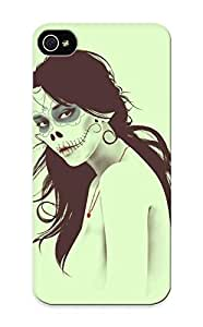 9007be92923 Hot Fashion Design Case Cover For Iphone 5/5s Protective Case (women Skulls Minimalistic Zombies Vectors Illustrations Digital Art Sugar Skulls Portraits )