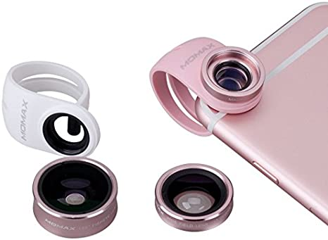 Momax X-Lens - Smartphone con Lentes y filtros de cámara de Ojo de ...