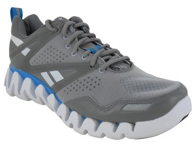 9f890725f080 Reebok ZigTech Zig Return Running Athletic Mens Shoes Gray Men s 10.5  (B00726O81C)