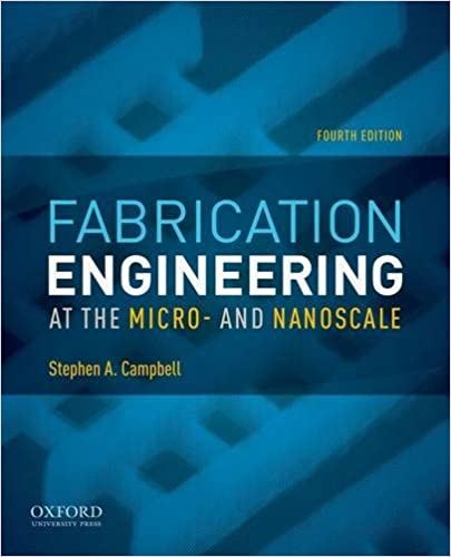Fabrication Engineering at the Micro- and Nanoscale (The Oxford ...