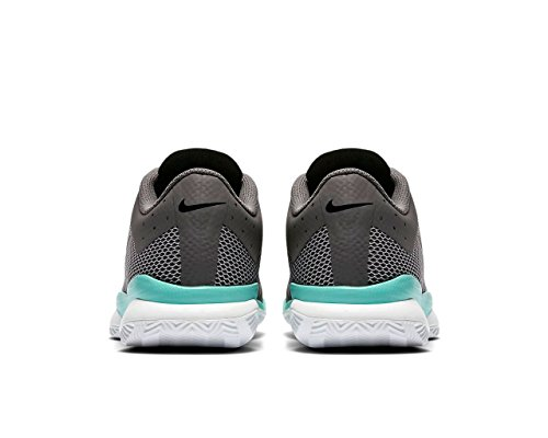 Nike NIKE AIR ZOOM ULTRA CLY - Zapatillas deportivas, Hombre, Verde - (Dark Grey/Black-Aurora Green-Wolf Grey)