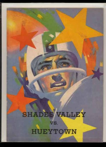 Football Game Program (1963) Shades Valley High School Birmingham Alabama (vs Hueytown)