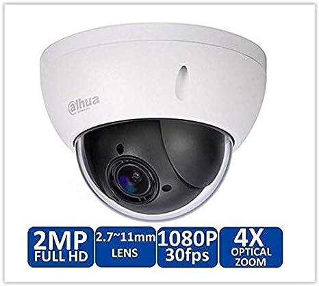 UK Stock Dahua SD22204T-GN Full HD 2MP 4X Optical Zoom Mini PTZ POE IP66 Camera