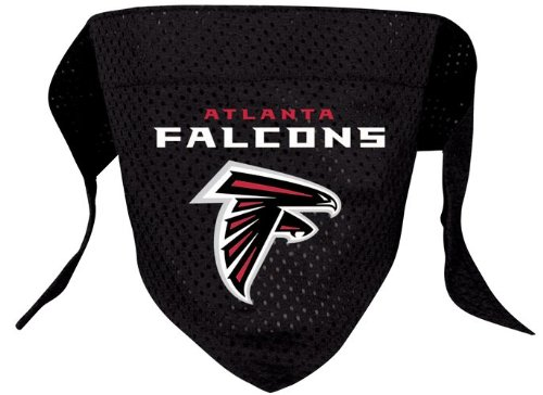 Atlanta Falcons Pet Dog Football Jersey Bandana M/L, My Pet Supplies