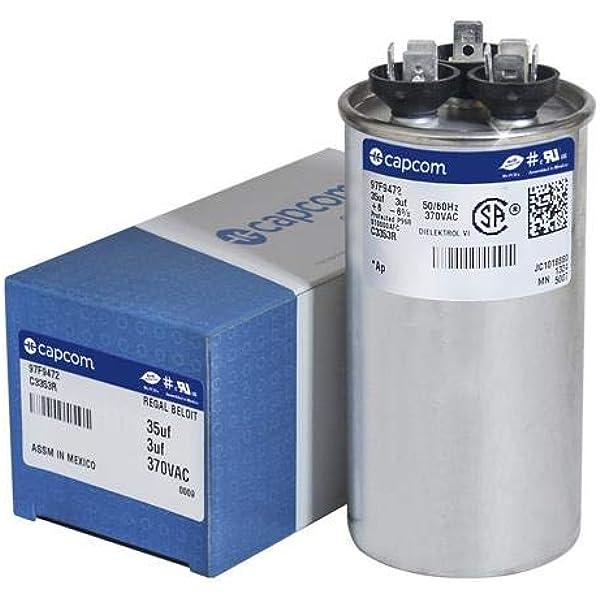 AERZETIX 47nF /±10/% Condensateur Polypropyl/ène X1 15mm C46537 18x6x17.5mm THT Lot de 3