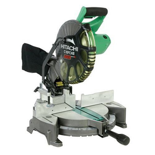 Hitachi C10FCH2 10 in. Compound Miter Saw with Laser Guide (Certified Refurbished)