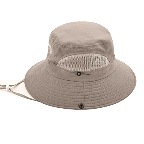 Sun Protection Bucket Fishing Hats for Men and Women Summer Outdoor SPF 50+  Boonie Cap ef840caa7be