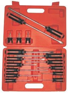 16Pc. Tang Thru S2 Steel Screwdriver Set