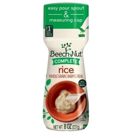 Beech-Nut Complete Rice Cereal - 8 oz (2 Pack)