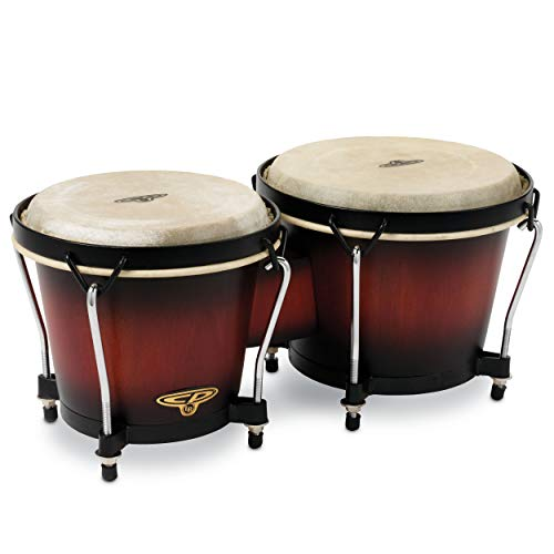 Bongos Traditional Rims - Latin Percussion CP221VSB Traditional Bongos - Vintage Sunburst