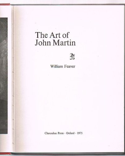The Art of John Martin